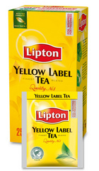 LIPTON  Črni čaj - Yellow Label